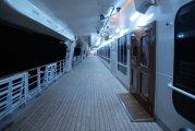 pokład spacerowy Hermitage - promenade deck Hermitage
