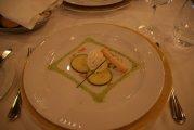 przekąska na kolacji w restauracji Duca d\'Orleans - appetizer for dinner at a restaurant Duca d\'Orleans