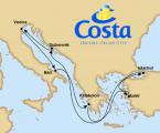 trasa rejsu - cruise itinerary