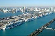 Cruises terminal Miami