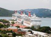 Carnival cruise ships - St. Thomas Virgin Islands ( wyspy Dziewicze )
