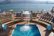 Izmir w Turcji i widok na basen Porpora - Izmir in Turkey and view of the pool Porpora
