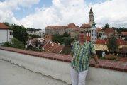 zamek i stare miasto Czeski Krumlov - castle and old town of Czech Krumlov