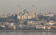 błękitny meczet w Istambule - Blue Mosque in Istanbul