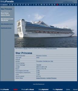 5. Star Princess