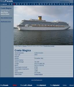 7. Costa Magica